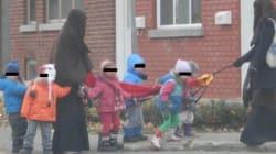Le niqab en garderie et les réactions des anglophones - Victor