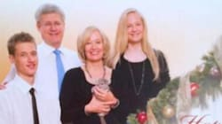 Forget The Scandal, Harper's Christmas Card Has A Cute