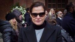 Sfilata di vip per i funerali di Aldo Coppola