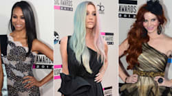 Le tapis rouge des American Music Awards