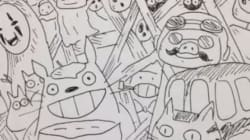 トトロにカオナシ......宮崎駿監督に6秒アニメで「ありがとう」Vineの投稿がすごい