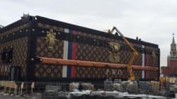 Vuitton démonte sa malle géante à