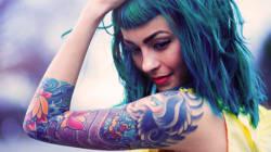Les tatouages de couleur bientôt