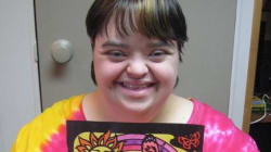 Down Syndrome Artist Shares Big On