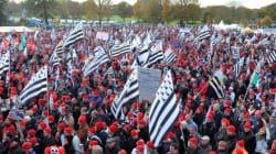 Trois Bonnets rouges condamnés à 18 mois