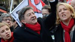 Marche du Front de gauche : 100.000 manifestants selon Mélenchon, 7000 dit la