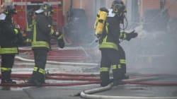 Incendio a Prato,