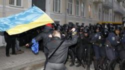 Des dizaines de blessés en marge d'une manifestation pro-UE à Kiev