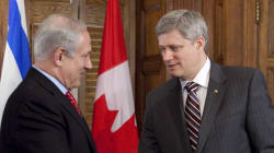 Make No Mistake: Stephen Harper Supports Netanyahu, Not