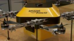 Amazon、無人飛行ドローンによる配達を実験中