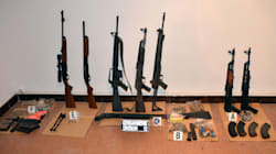 Trafic d'armes international : 45 personnes interpellées en