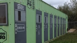 LOOK: Shipping Containers As Homeless