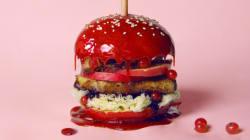 Des hamburgers transformés en œuvres d'art