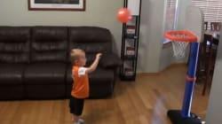 Il piccolo Tito sfida a basket Bradley Cooper e Channing Tatum