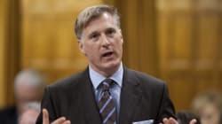 Le ministre Bernier fait la leçon au gouvernement