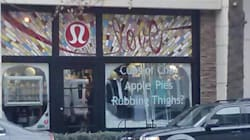 Lululemon Store Uses 'Rubbing Thighs' As Sales