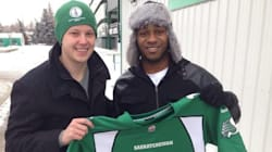 Grey Cup MVP Stranded, Student Comes To The