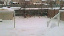 LOOK: Edmonton Has To Dig Itself Out Of