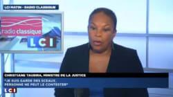 Cannabis: Christiane Taubira en veut très très fort au