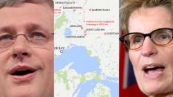Harper, Wynne Meet To Talk Ring Of