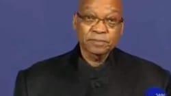 VÍDEO: Así lo anunció el presidente de Sudáfrica a su