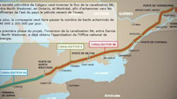 Pipeline d'Enbridge : la commission parlementaire recommande le