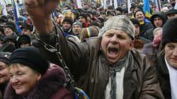 Ukraine 200 000 opposants pro-européens dans le centre de
