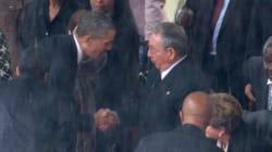 Poignée de mains historique entre Obama et
