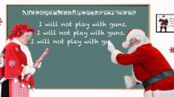 Cops Send Gangsters 'Bad Santa'
