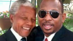 Politician Posts Mandela Pic.