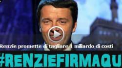 Finanziamento ai partiti, Grillo a Renzi: