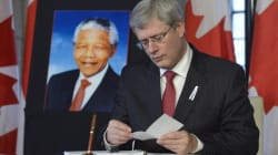 Harper Announces Scholarships In Mandela's