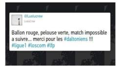 Le ballon orange utilisé en Ligue 1 attire les foudres des téléspectateurs