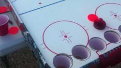 Beer Pong, Air Hockey Together At