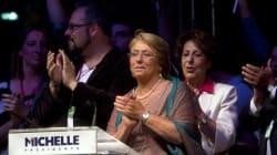 Michelle Bachelet de nouveau présidente du