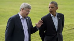 Harper: Obama 'Punted' On