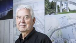Pont Champlain : l'architecte Poul Ove Jensen esquisse sa