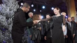 Brahim Zaïbat danse avec la Première