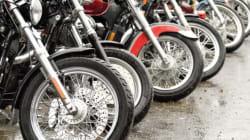 Des motards qui font
