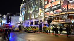 Effondrement du plafond d'un théâtre à Londres