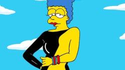 Après les robes de stars, Marge s'essaie au