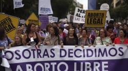 Avortement : grands rassemblements aujourd'hui à Madrid, Paris et
