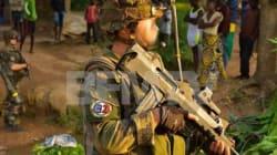 Centrafrique: un insigne nazi surpris au bras d'un soldat