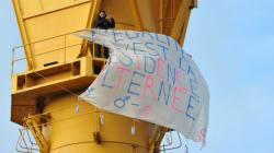Nantes : 10 mois après, un père de nouveau retranché sur une