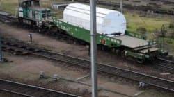 Drancy : un wagon de déchets nucléaires