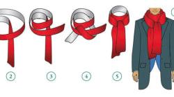11 modi per indossare una sciarpa