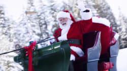 Suivez le trajet du Père Noël en direct sur