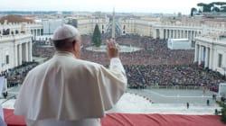 Le pape dénonce dans son message de Noël guerres, traite et