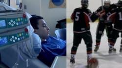 Un jeune hockeyeur leucémique de Mascouche déjoue les