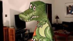 Ce T-Rex ne vous quittera pas des